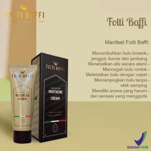 Komposisi dari cream penumbuh brewok Folti Baffi ini terbilang susah  ditemui di Nusantara. Kandungan komposisi di dalam Folti Baffi ialah  Radiancyl dan ... 6e29d29871